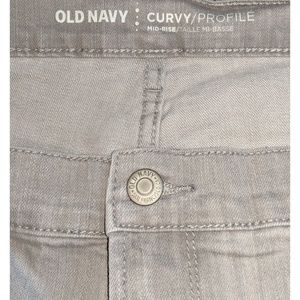Old Navy Jeans - Old Navy light grey jeans